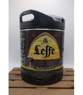Leffe Brune Perfect Draft Keg 6 L (600 cl)