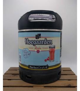 Hoegaarden Rosée Perfect Draft Keg 6 L (600 cl)