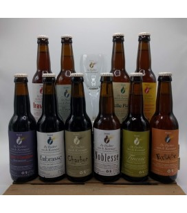 De Dochter van de Korenaar Brewery Pack (10x33) + FREE Brewery Glass