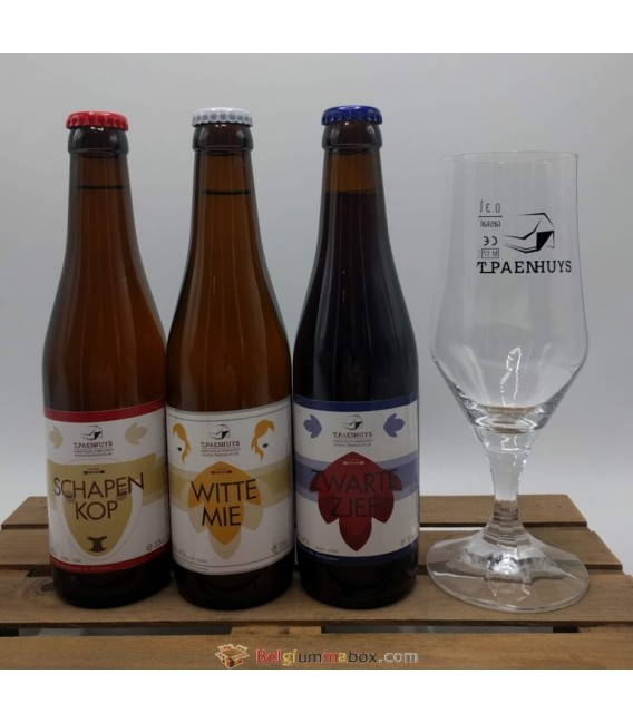 't Paenhuys Brewery Pack + 't Paenhuys Glass