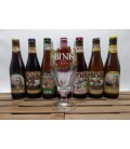 Kerkom Brewery Pack (7x33cl) + FREE Bink Glass