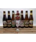 Kerkom Brewery Pack (6x33cl) + FREE Bink Glass