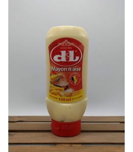 D&L Mayonaise Egg 450 ml (sqeezable bottle)