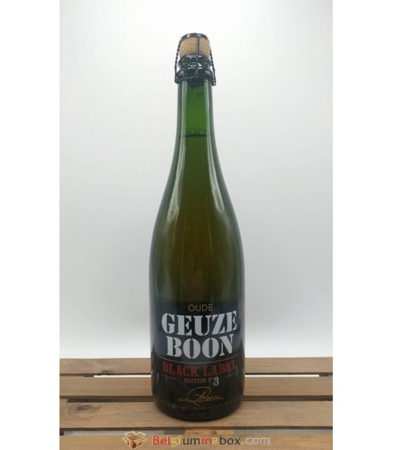 Boon Oude Geuze Black Label N° 3 2016 75 cl
