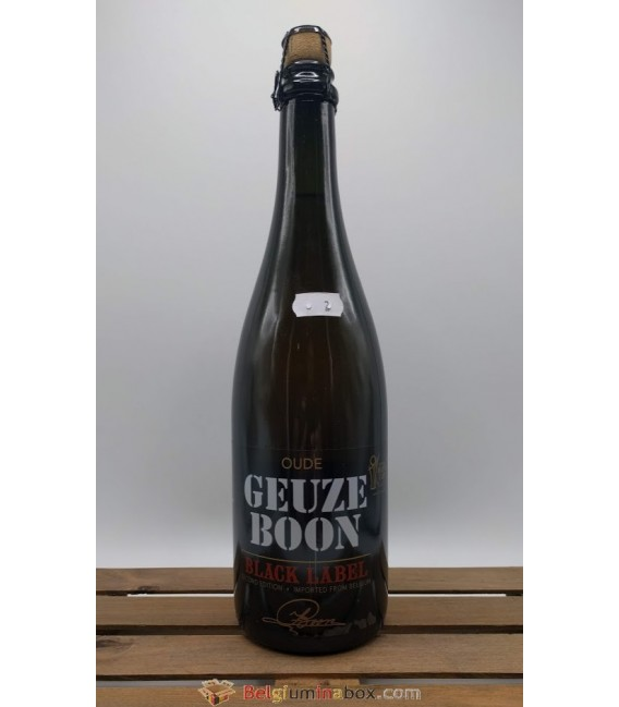 Boon Oude Geuze Black Label N°2 75 cl