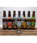 St Bernardus Brewery Pack (7x33cl) + FREE St Bernardus Glass