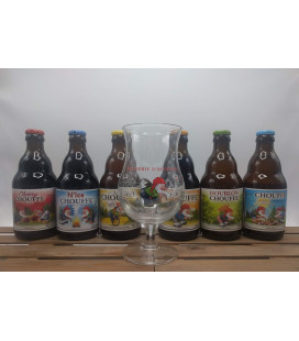 Chouffe Brewery Pack (6x33) + Chouffe Glass 25 cl
