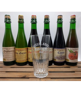 Hanssens Artisanaal Brewery Pack (6x37.5cl) + Hanssens Glass