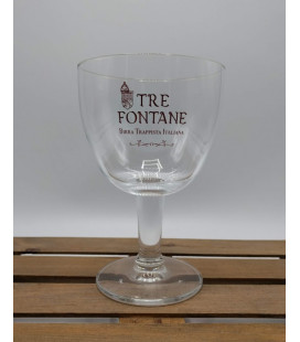 Tre Fontane Trappist Glass 33 cl