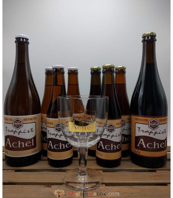 Achel Trappist Brewery Pack + FREE Achel Trappist Glass