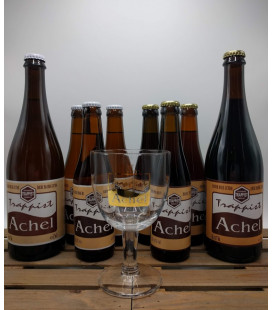 Achel Trappist Brewery Pack + FREE Achel Trappist Glass