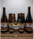 Achel Trappist Brewery Pack + FREE Achel Trappist Glass (gold lettering)