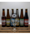 Het Nest Four Aces Brewery Pack (6x33) + FREE Het Nest Glass