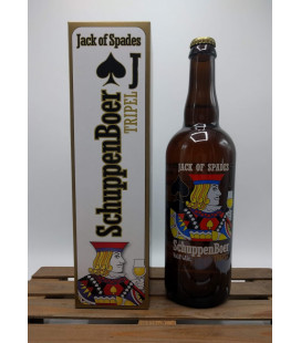 Het Nest SchuppenBoer Tripel (Jack of Spades) 75 cl in Gift Box