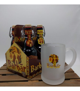 Barbar Brewery Pack (4x33cl) + Barbar Glass