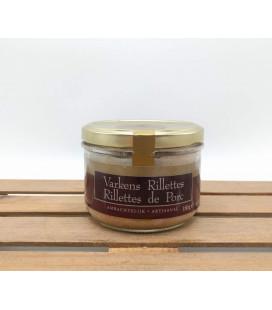 Varkens Rillettes - Rillettes de Porc (made by De Veurn'Ambachtse) 180 gr