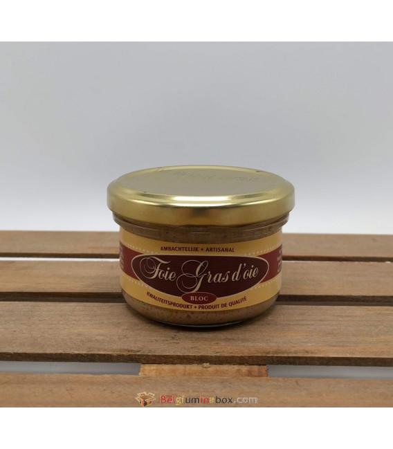 Foie Gras d'Oie (goose foie d'oie) Bloc 90 gr