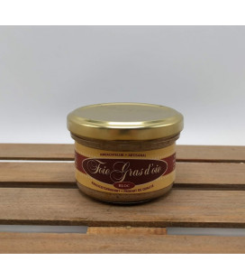 Foie Gras d'Oie Canard Bloc 90 gr