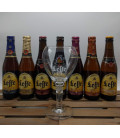 Leffe Brewery Pack (7x33cl) + FREE Leffe Glass