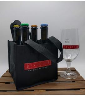 De Leite Cuvée Jubilé Sour BA 4-pack + FREE De Leite Glass
