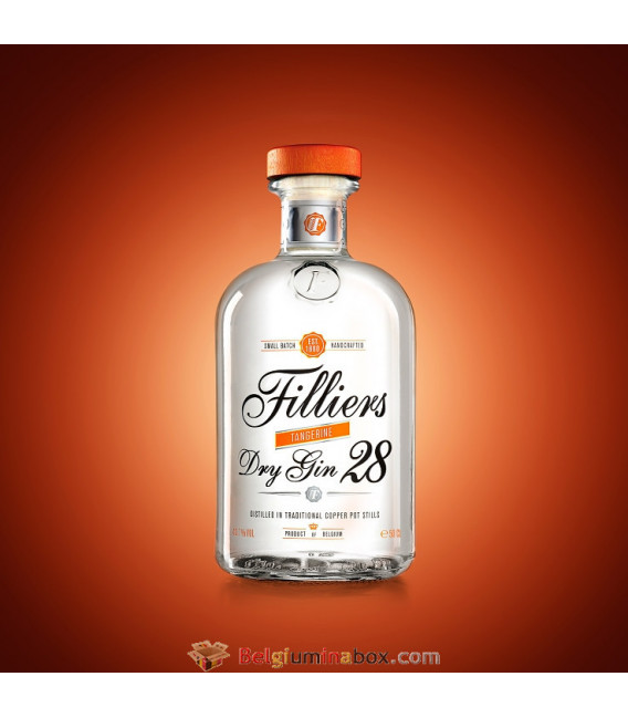 Filliers Dry Gin 28 Tangerine 50 cl