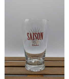 St Feuillien Saison Glass 33 cl