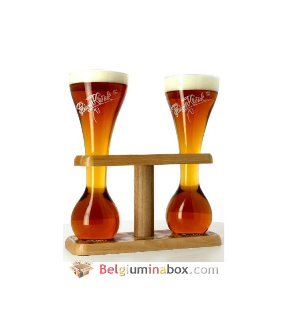 Kwak Wooden Stand for 2 Glasses of 33 cl