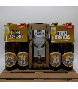 De Koninck Tripel d'Anvers 8-Pack + FREE Tripel d'Anvers Glass