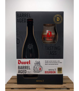 Duvel Barrel Aged Batch N° 3 + Duvel Barrel Aged Glass