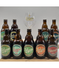 Belgoo Brewery Pack (9x33cl) + FREE Belgoo Glass