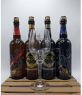 Gouden Carolus Brewery Pack (4x75cl) + FREE Gouden Carolus Glass