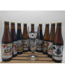 Het Nest Brewery Pack (9x33cl) + FREE Het Nest Glass 33 cl