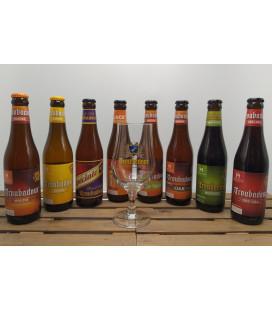 Troubadour Brewery Pack (8x33cl) + FREE Troubadour Glass 25 cl