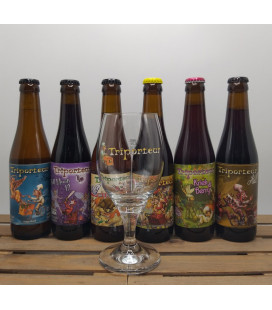 Triporteur Brewery Pack (6x33) + FREE Brewery Glass