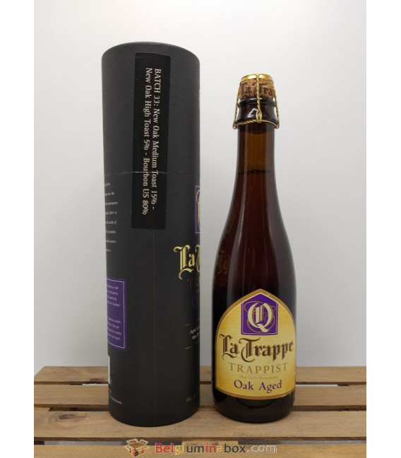 La Trappe Quadrupel Oak Aged Batch 33 37.5 cl