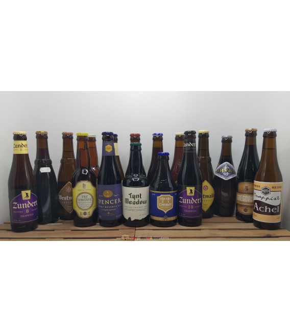 Trappist Brewery Pack (16x33cl) + FREE Tynt Meadow