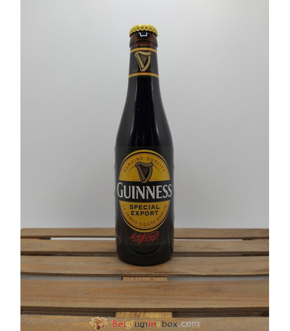 Guinness Special Export (Belgian Version)  33 cl