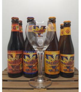Malheur Brewery Pack (2x6-8-10-12) + FREE Malheur Glass
