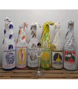 De Glazen Toren Brewery Pack (6x75cl) + FREE De Glazen Toren Glass