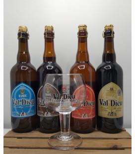 Val-Dieu Brewery Pack (4x75cl) + FREE Val-Dieu Glass