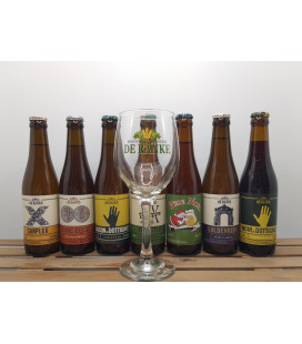 De Ranke Brewery Pack (7x33cl) + FREE De Ranke Glass