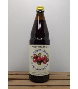 Pajottenlander Veenbessensap (Cranberry Juice) 75 cl