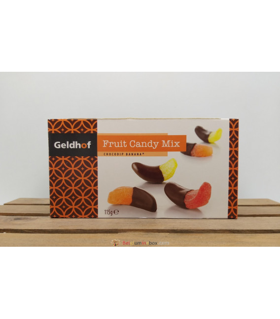 Geldhof Fruit Candy Mix (chocodip banana) 115 gr