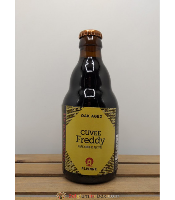 Alvinne Cuvée Freddy Dark Sour 33 cl