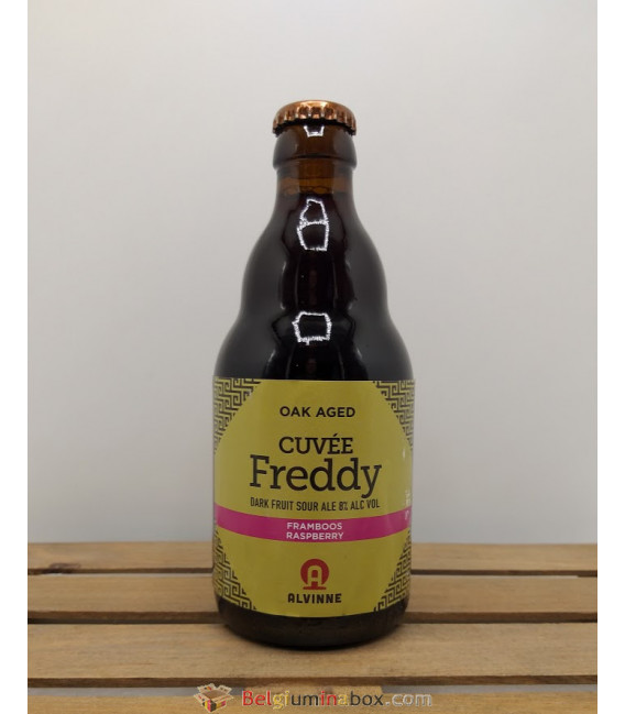 Alvinne Cuvée Freddy Framboos (raspberry) 33 cl