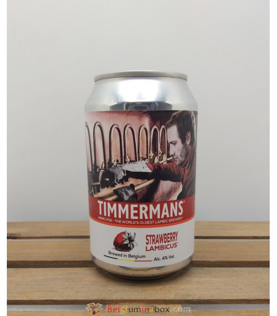 Timmermans Strawberry Lambicus 33 cl Can