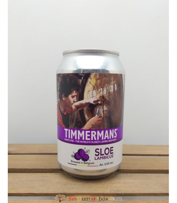 Timmermans Sloe Lambicus 33 cl Can