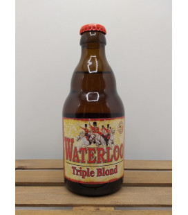 Waterloo Triple Blond 8 33 cl