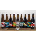Brussels Beer Project Brewery Pack (9x33cl) + FREE BBP Glass 50 cl
