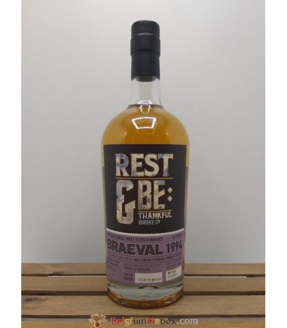Single Malt Whisky Braeval 1994 48% 0 cl